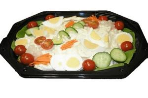 Salade schotel - simpel
